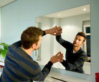 installation de miroir