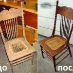 restaurer la chaise