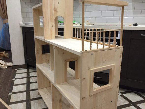 hylly talo DIY suunnittelu