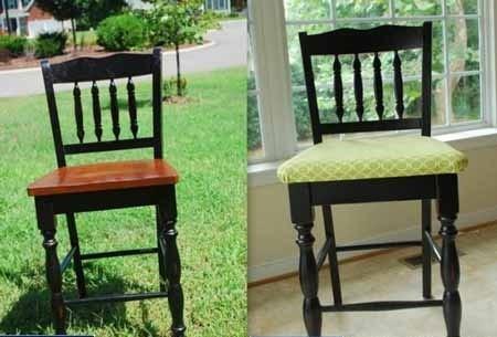 restauration d'une chaise en bois avec vos propres mains en changeant l'apparence de la chaise