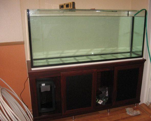 aquarium sur pied