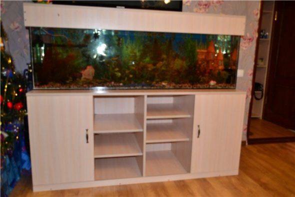 piédestal pour la fabrication d'aquarium