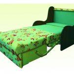 fauteuil-lit escamotable sans accoudoirs