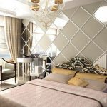 chambre miroirs luxe et style