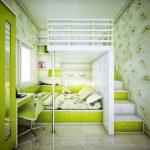 La couleur des meubles dans les chambres