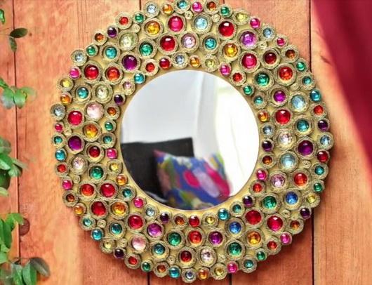 Des miroirs de style boho faites-le vous-même