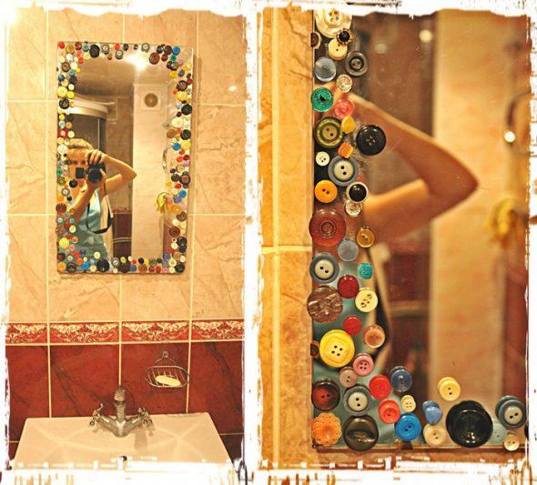Décoration de miroir