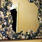 Bricolage miroir pour la salle de bain