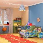 Chambre d'enfant en design