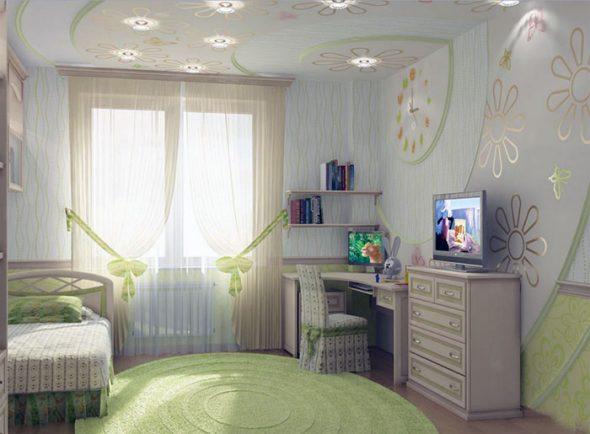 Chambre d'enfant à Khrouchtchev