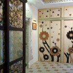armoire de mise à jour dans le couloir