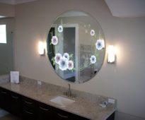 Miroir classique dans la chambre