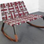 rocking chair sans accoudoirs
