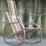 rocking chair photo d'arbre