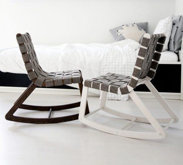 chaises berçantes