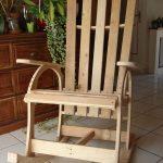 rocking chair lumière
