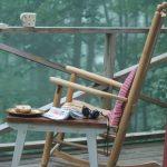 rocking chair sur la véranda