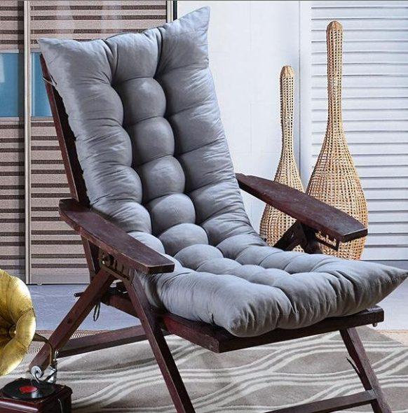 rocking chair avec coussins