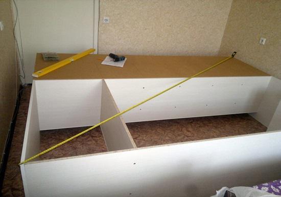 Zorg ervoor dat je de diagonaal van een mooie kast meet