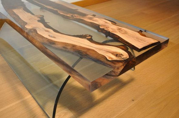 Algemene principes voor het maken van epoxy-tafelbladen