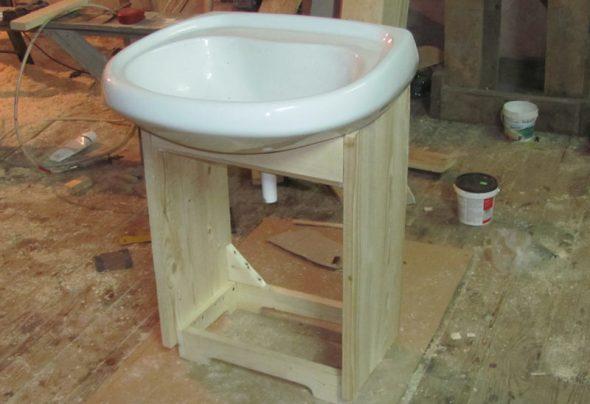 Personnaliser l'armoire à l'évier