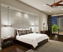 Chambre design pratique avec niche