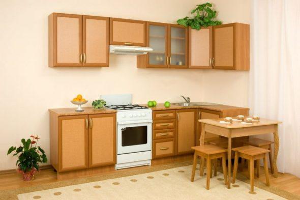 Restauratie van de keuken
