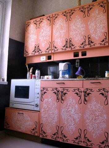 Restauratie van keukenfronten