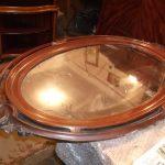 Restauration du cadre sous le miroir