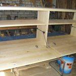Table de chevet bricolage