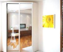 Miroir d'armoire avec un motif