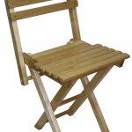 Chaise de bricolage pliante en bois