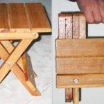 Chaise haute pliable à faire soi-même
