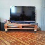 Support TV de la palette