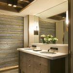 Kylpyhuone, moderni sisustus