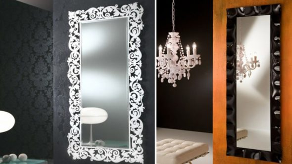 décorer un vieux miroir