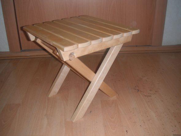 faire une chaise pliante