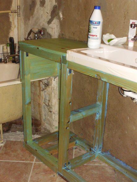cadre en bois pour armoires