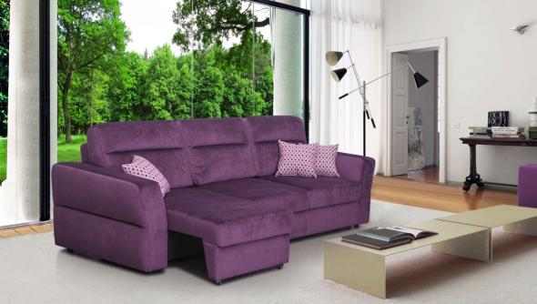 Canapé Eurobook violet