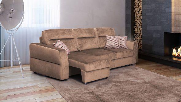 Ghế sofa màu nâu Eurobook