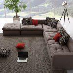 Grand canapé d'angle Eurobook