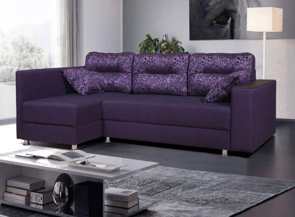 góc sofa với gối