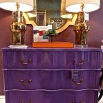 commode violet
