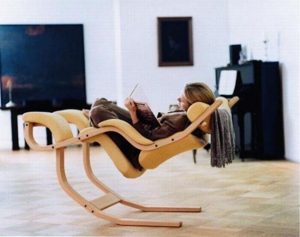 fauteuil à bascule 3 en 1