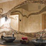 combinaison de carreaux de salle de bain photo
