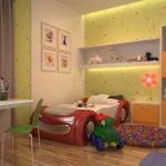 chambre pour deux enfants hétérosexuels