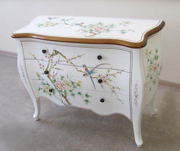 peindre des meubles blancs
