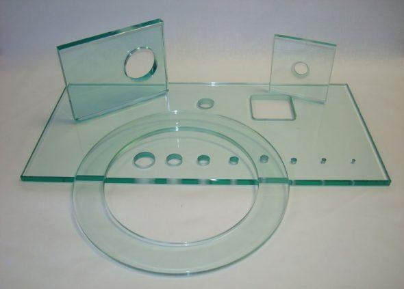 verre percé