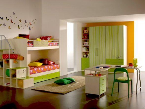 arrangement de meubles pour enfants