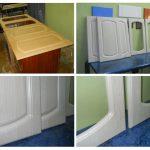 keukenkast deur restauratie